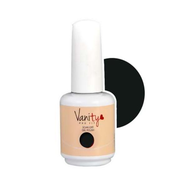 Ημιμόνιμο βερνίκι της Vanity σε χρώμα μαύρο