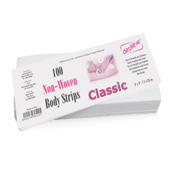 DEPIL 100 CLASSIC BODY STRIPS 7,5 x 23 CM - 1 PC